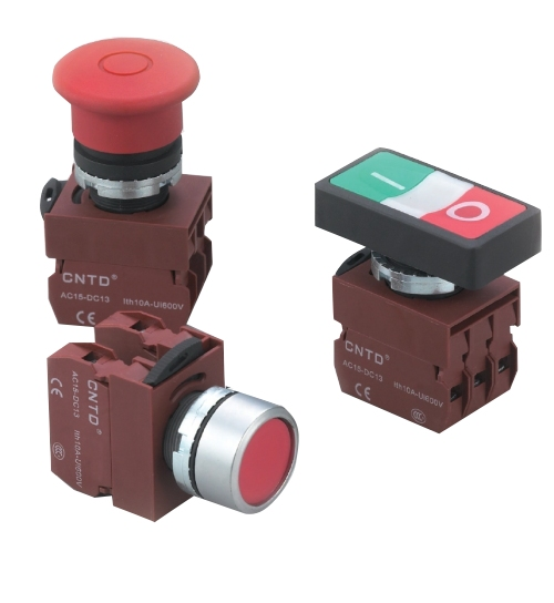 Push button switch C2 - C3 series